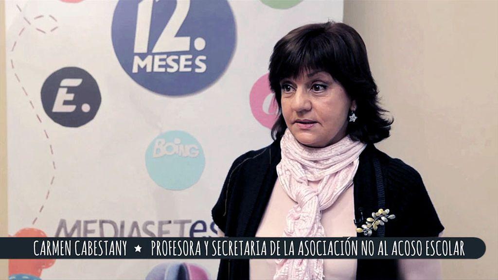 """Carmen Cabestany: """"2 millones de nuestros niños sufren acoso escolar"""""""