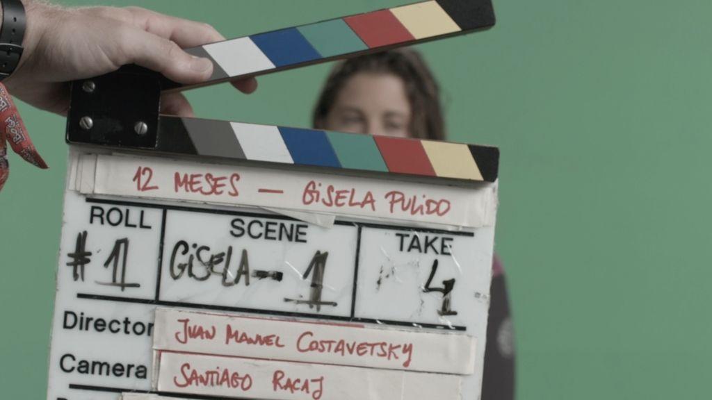 Así se grabó el spot con Gisela Pulido
