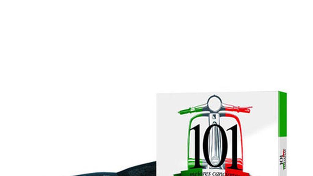 CD 101 mejores canciones italianas