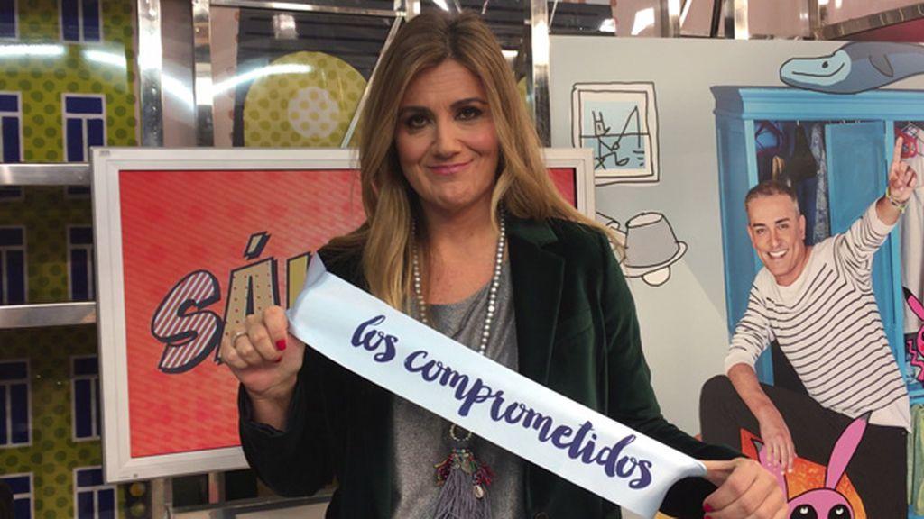 Carlota Corredera se compromete con la nueva campaña de '12 Meses'