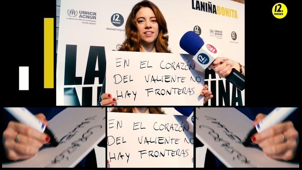 """Mirta, Julieta, Hala y Matilde: """"En el corazón del #valiente no hay fronteras"""""""