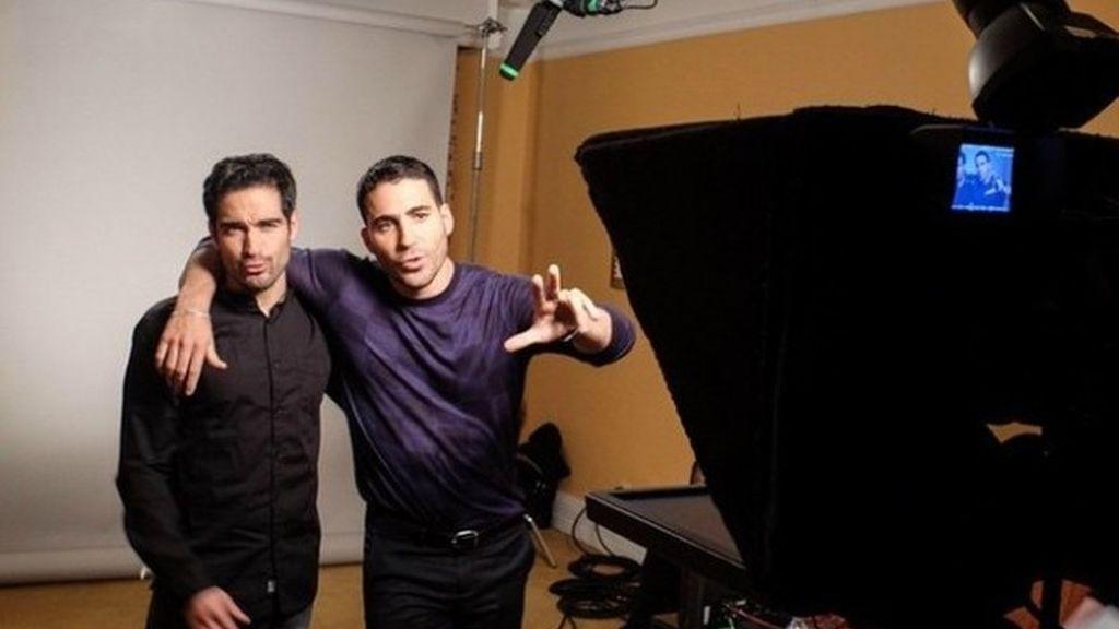 Miguel Ángel Silvestre y Alfonso Herrera