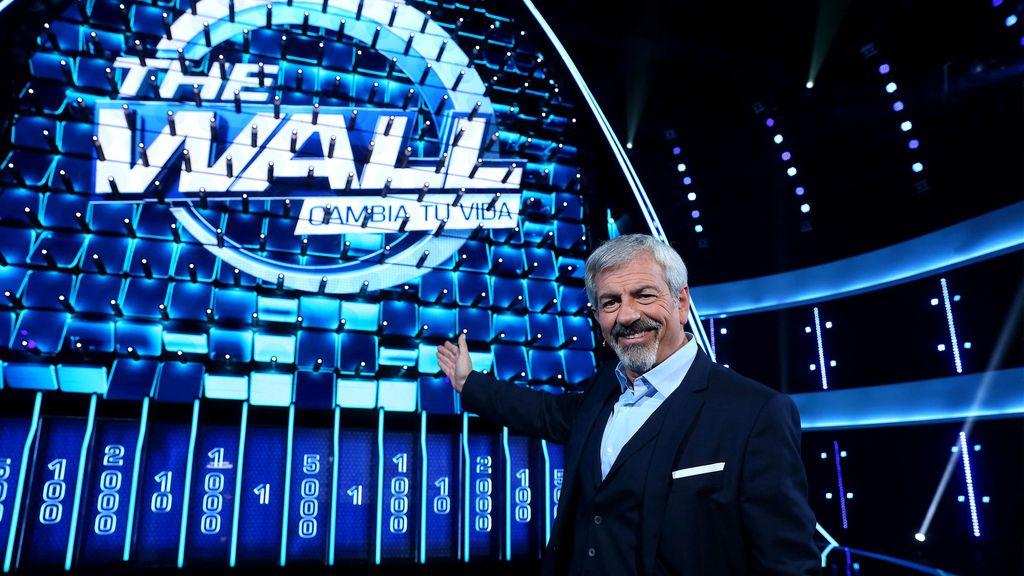 Telecinco estrena 'The wall'. Carlos Sobera