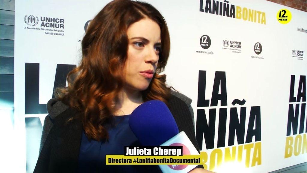 """Julieta Cherep: """"Estoy orgullosa a nivel personal y profesional de este proyecto"""""""