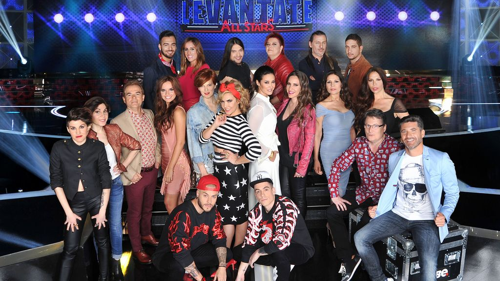 El público se pone en pie con los 'all stars' de Telecinco