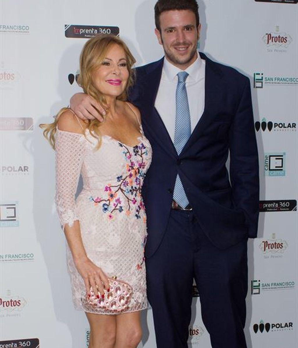 Ana Obregón y su hijo Álex