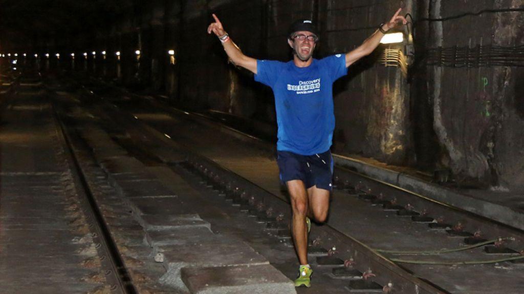 Discovery Underground convierte el Metro de Barcelona en la pista de 300 corredores