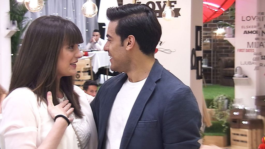 Carlos Rivera en 'First dates'