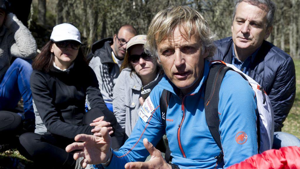 Los periodistas de TV, famosos a la aventura por un día con Jesús Calleja (2)