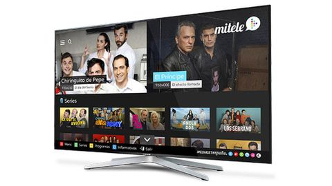 Mitele, en las smart TV de Samsung
