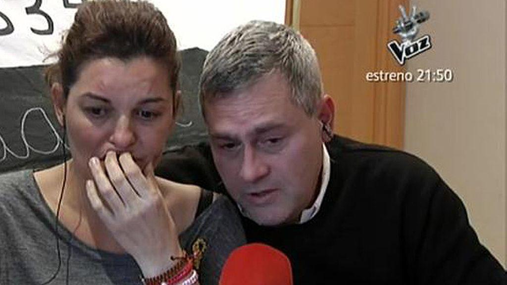 Monserrat y M. Ángel piden donantes de médula ósea para salvar a su hijo de 12 años