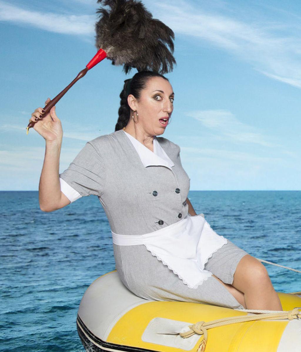 Rossy de Palma es Palmira, la jefa de las limpiadoras del barco