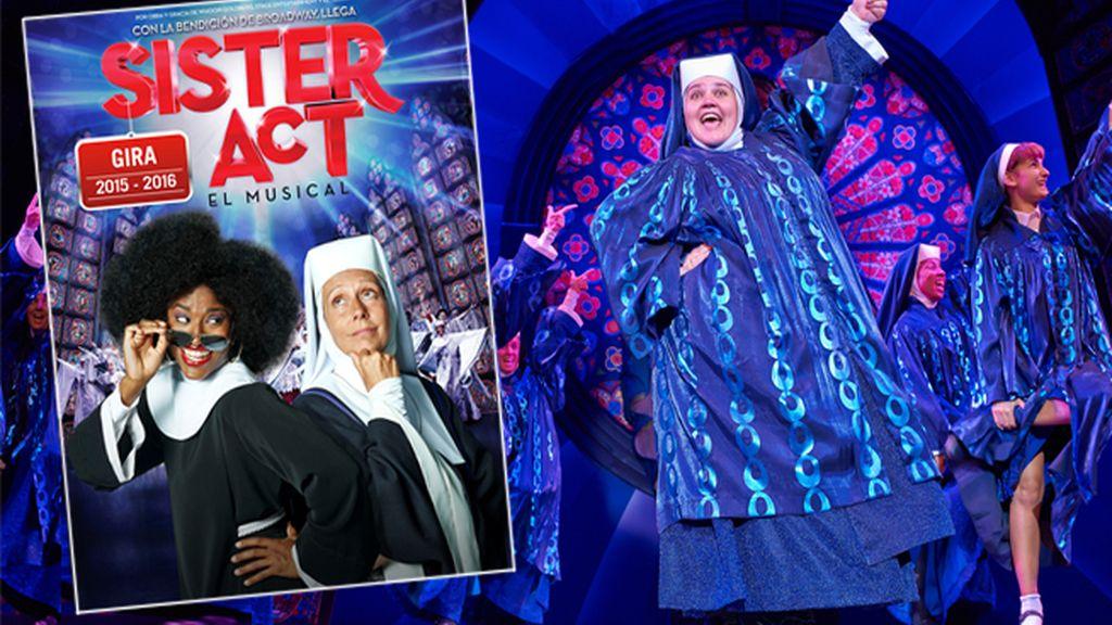 Hazte con tus entradas para Sister Act en TaquillaMediaset.es