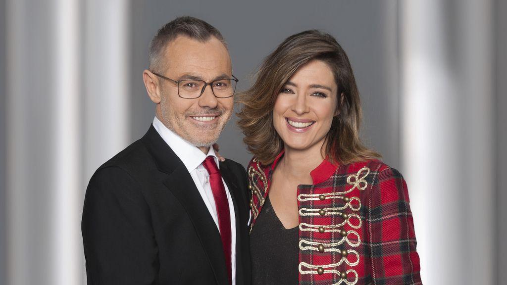 Jordi González y Sandra Barneda