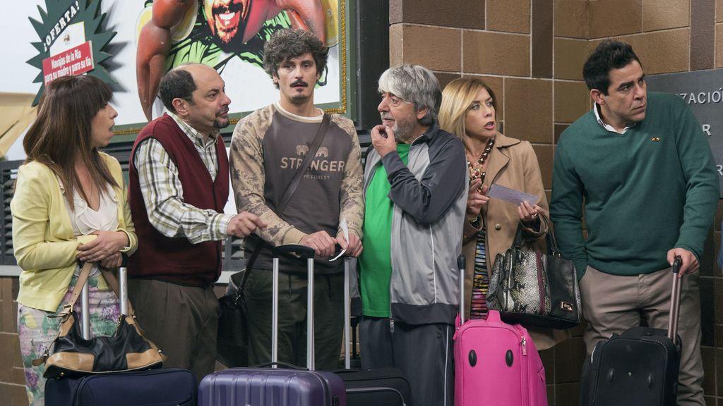 Escena de la novena temporada de 'La que se avecina', serie emitida en Telecinco