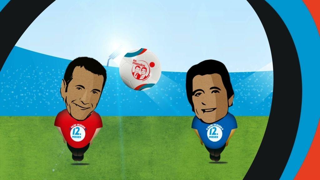 Entra en la web del Balón Solidario y ficha por el equipo de Manu o de Lama