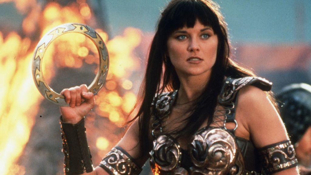 Imagen de 'Xena: la princesa guerrera', serie protagonizada por Lucy Lawless