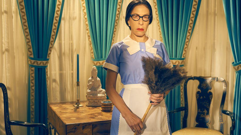 Jackie Hoffman es Mamacita, la ama de llaves de Joan Crawford, en 'Feud', de HBO