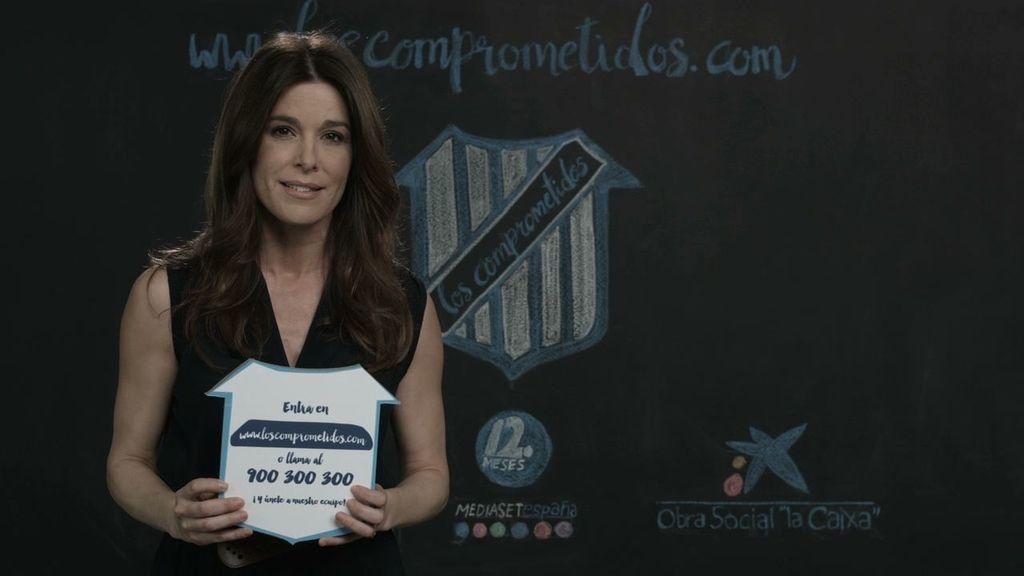 Raquel Sánchez Silva te anima a que te unas al equipo de 'Los Comprometidos'