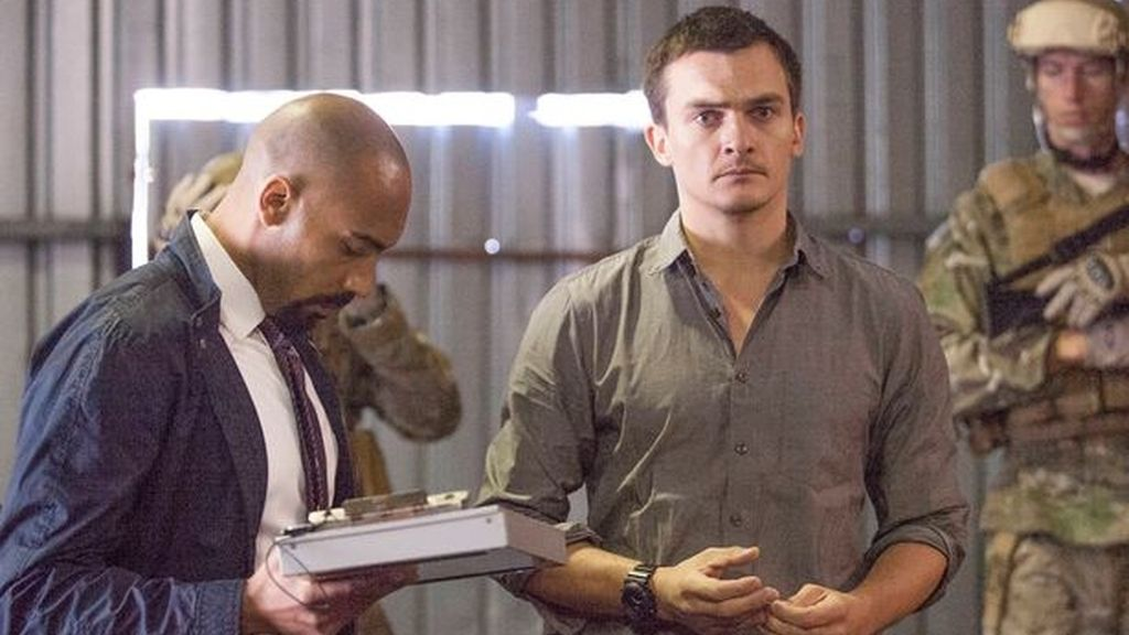 Peter Quinn (Rupert Friend). Homeland