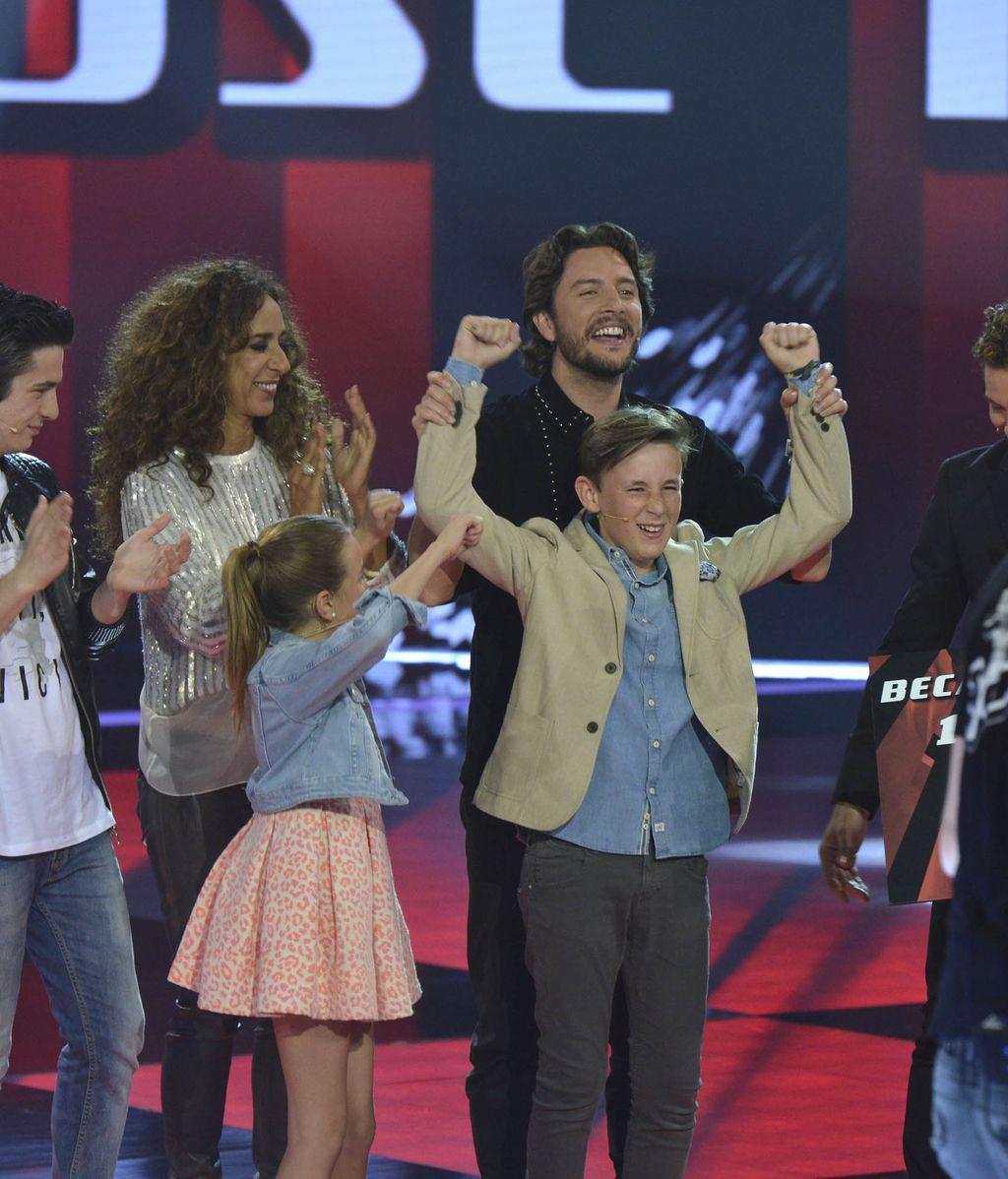 José María gana La Voz Kids