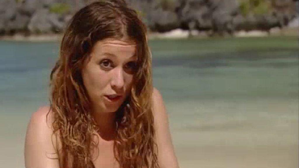 Estela, la 'experta' en geografía de la primera temporada, regresa a 'Adán y Eva'