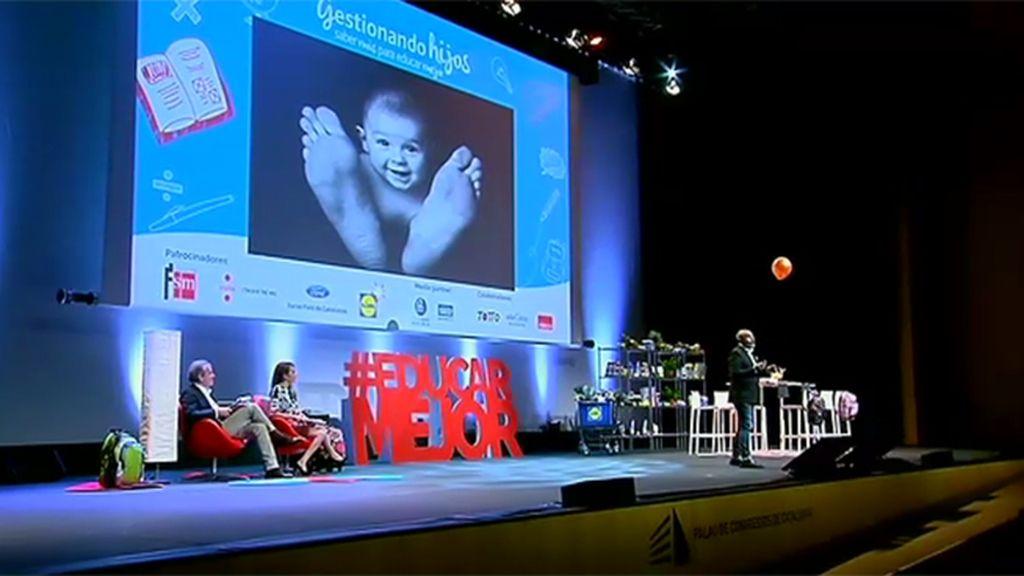 El evento de 'Gestionando hijos' da pistas a los padres para saber educar mejor