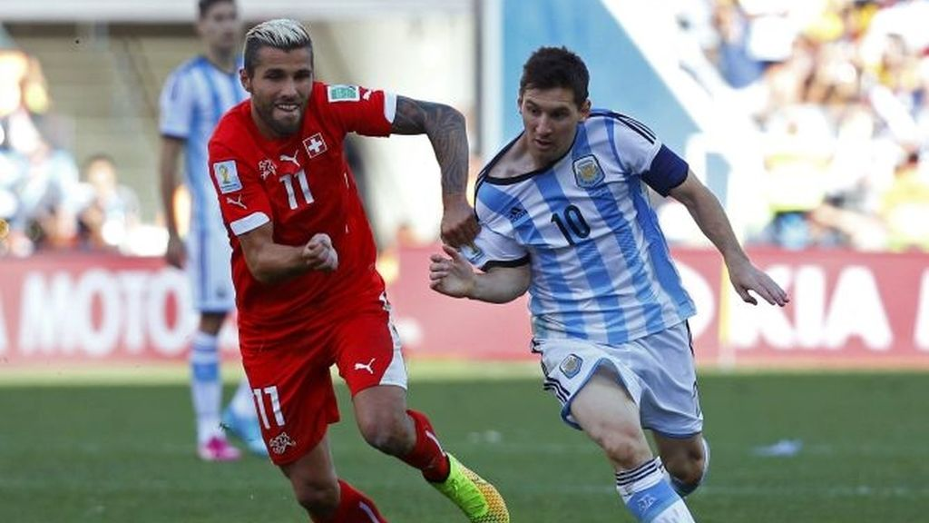 Octavos de final Argentina-Suiza
