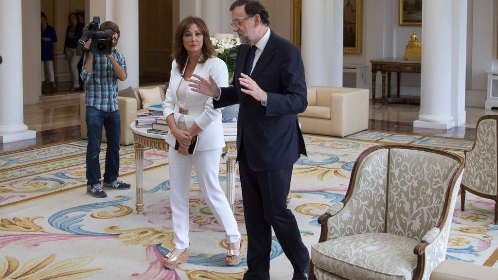 Ana Rosa y Mariano Rajoy