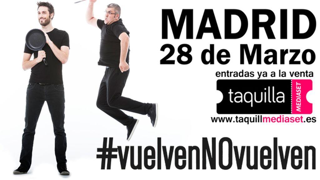 Compra tus entradas para ver a Dani y Flo en Madrid en Taquilla Mediaset