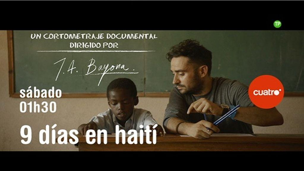'9 días en Haití' se emite el sábado 7 de noviembre a la 1.30 h en Cuatro