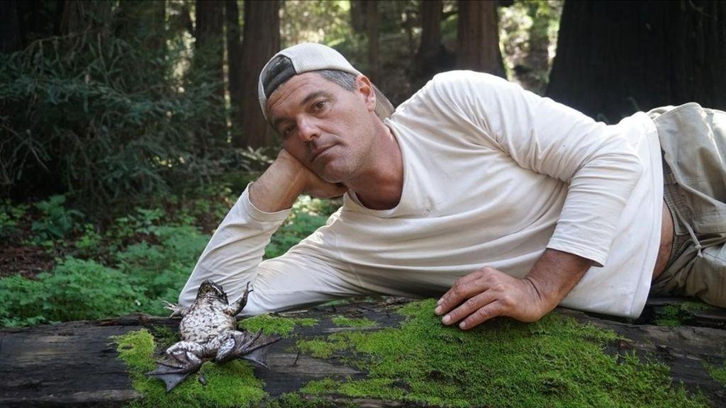 Frank Cuesta, durante la presentación de la temporada 'Wild Frank en California' de Discovery Max