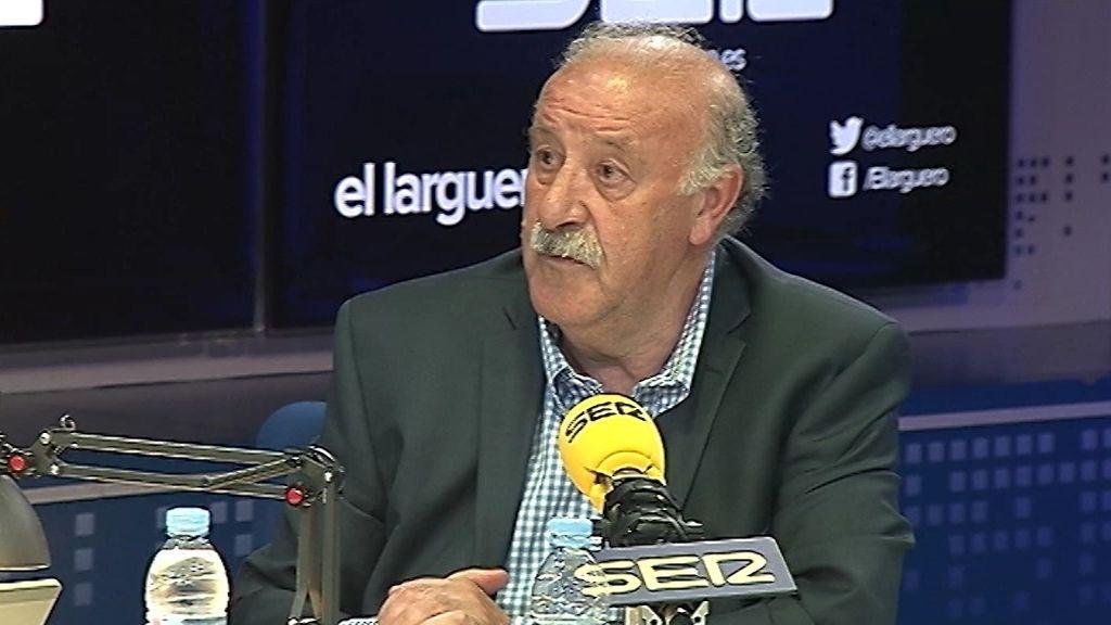 """Del Bosque, en 'El larguero': """"Casillas está dolido conmigo"""""""
