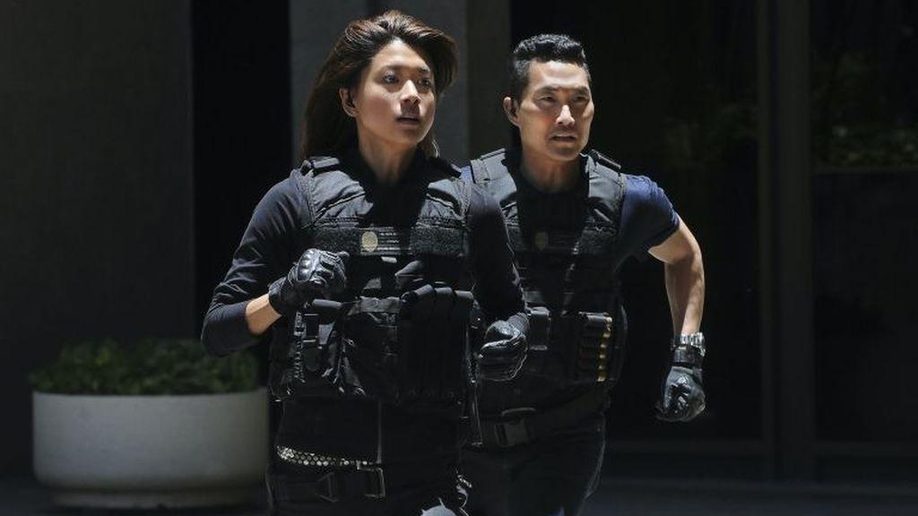 Grace Park y Daniel Dae Kim, dos de los protagonistas de la serie 'Hawai 5.0'