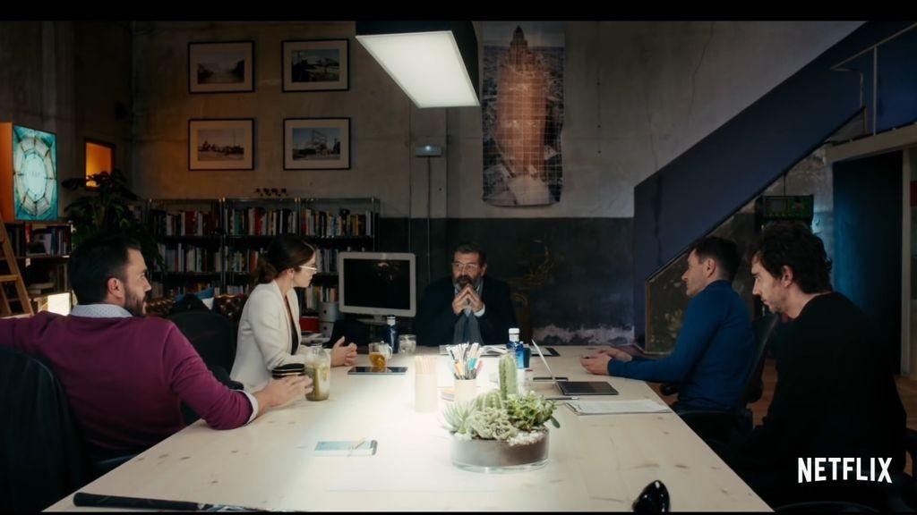 Paco León, Juana Acosta y Alex Brendemühl, en '7 años', primer filme español de Netflix