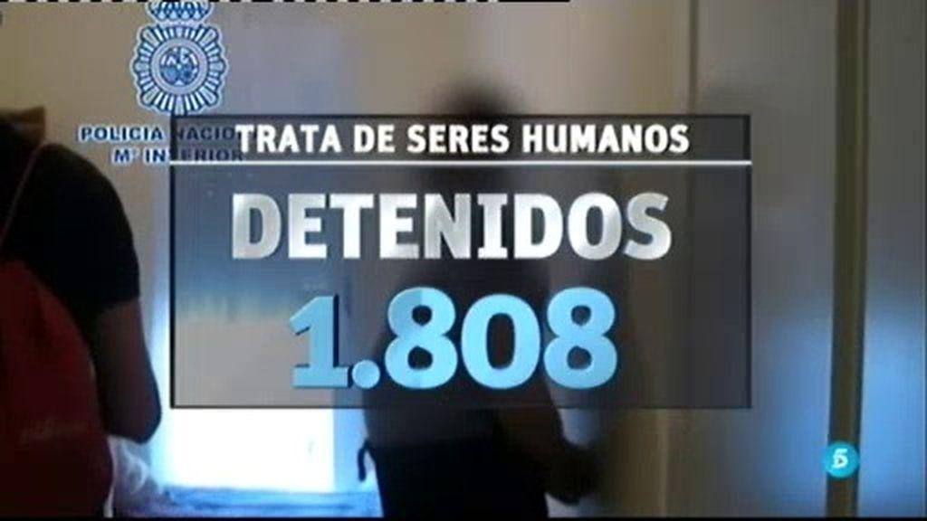 El éxito de la campaña contra la trata de seres humanos, en cifras.