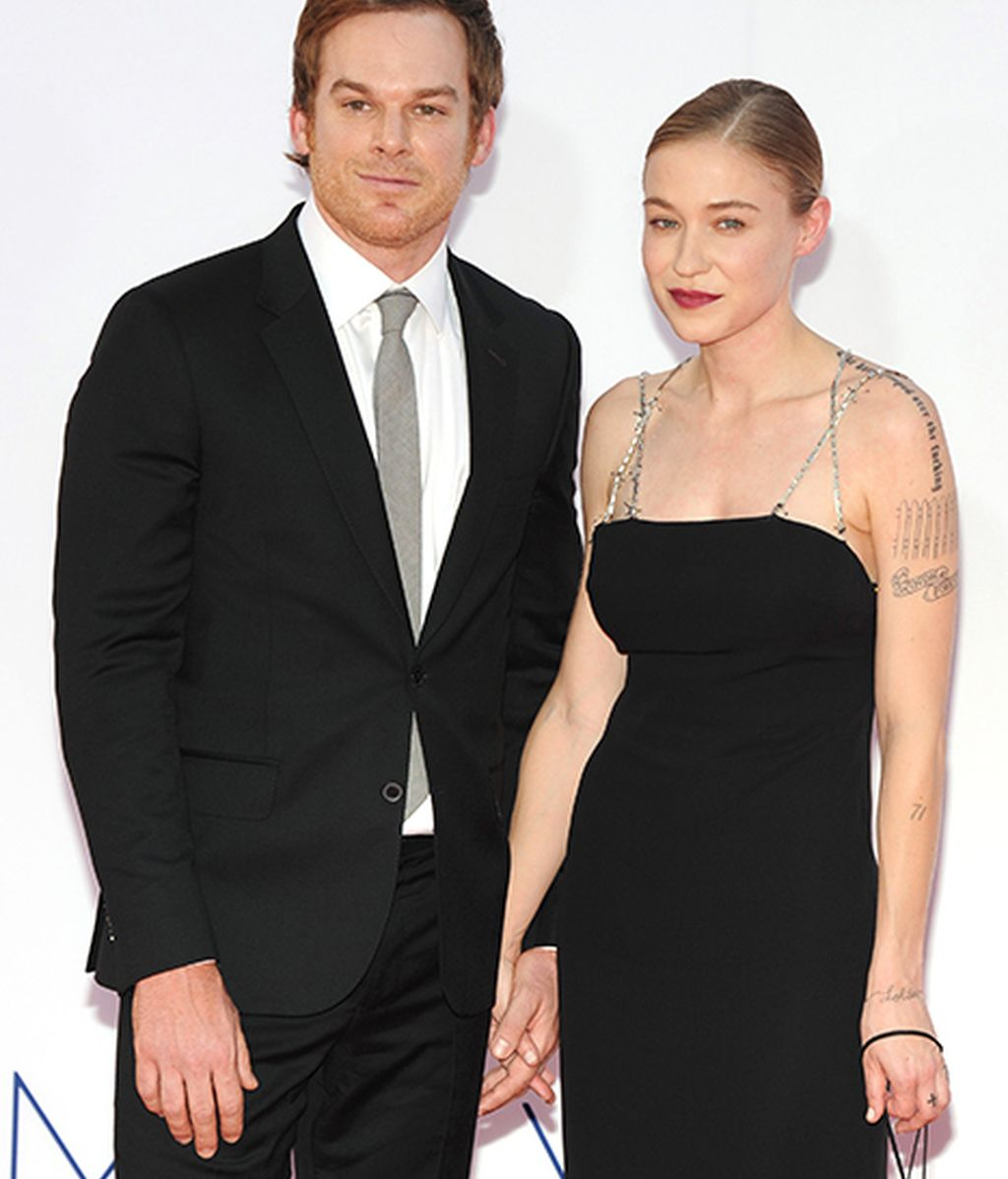Michael C. Hall y Morgan Macgregor