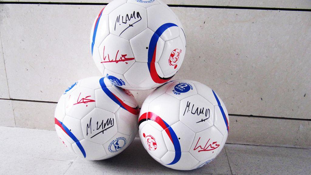 Balón firmado