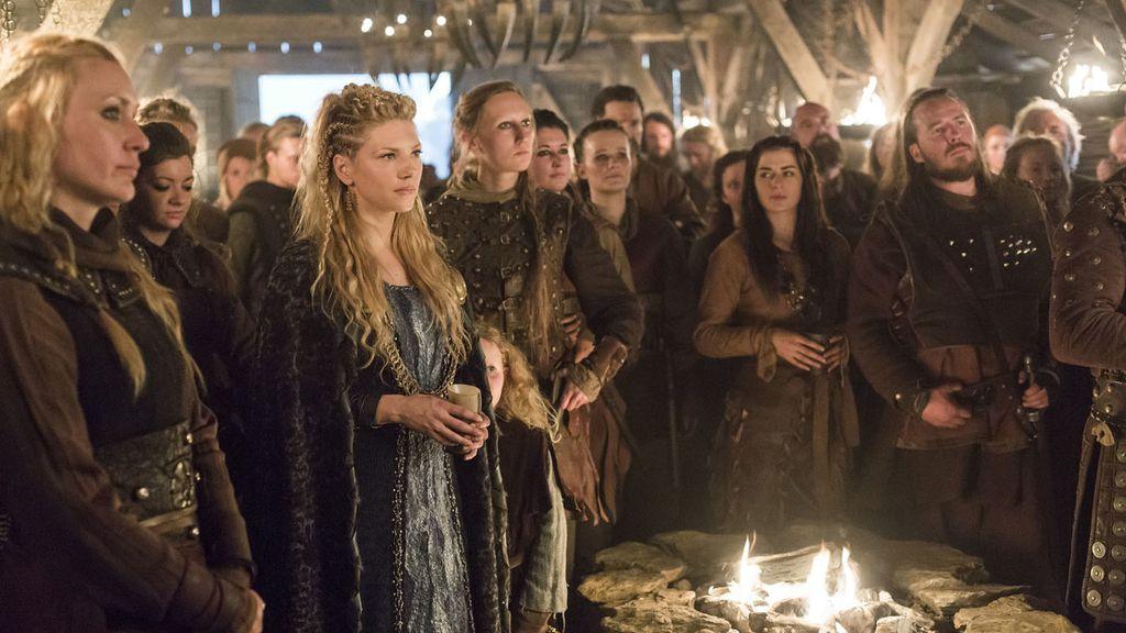 Ragnar hace frente a enemigos internos y externos en 'Vikingos'