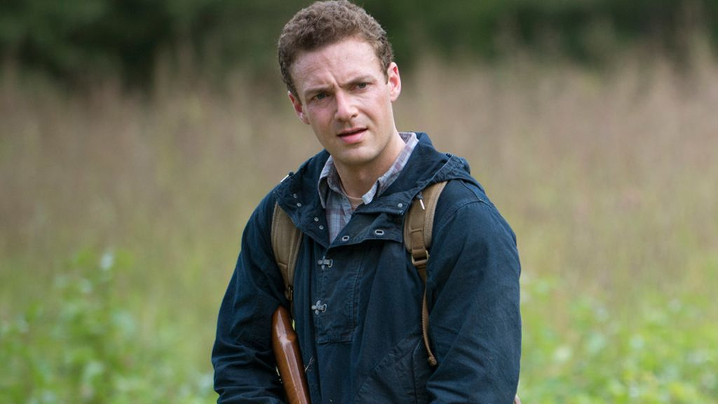 Personaje de Ross Marquand en 'The walking dead'