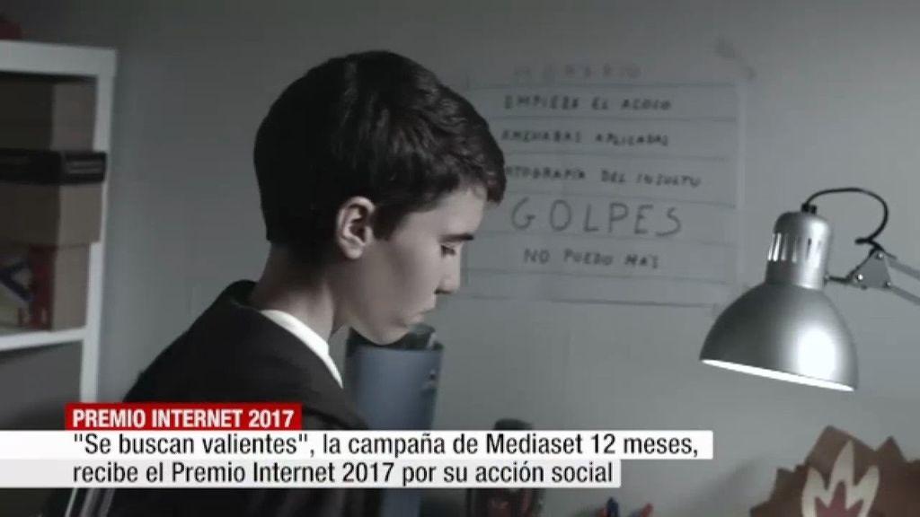 Se buscan #valientes recibe el Premio Internet 2017 en la categoría Acción Social