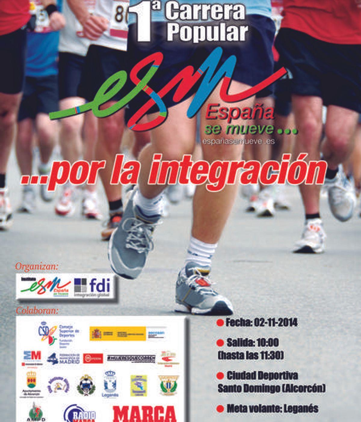 Cartel deporte integra