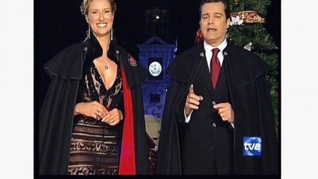 Ramón García y Anne Igartiburu