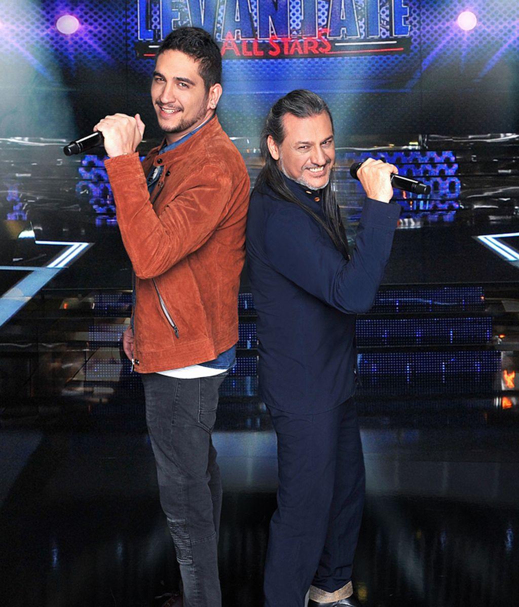 Rubén y su padre, Dionisio Martín 'Dioni'