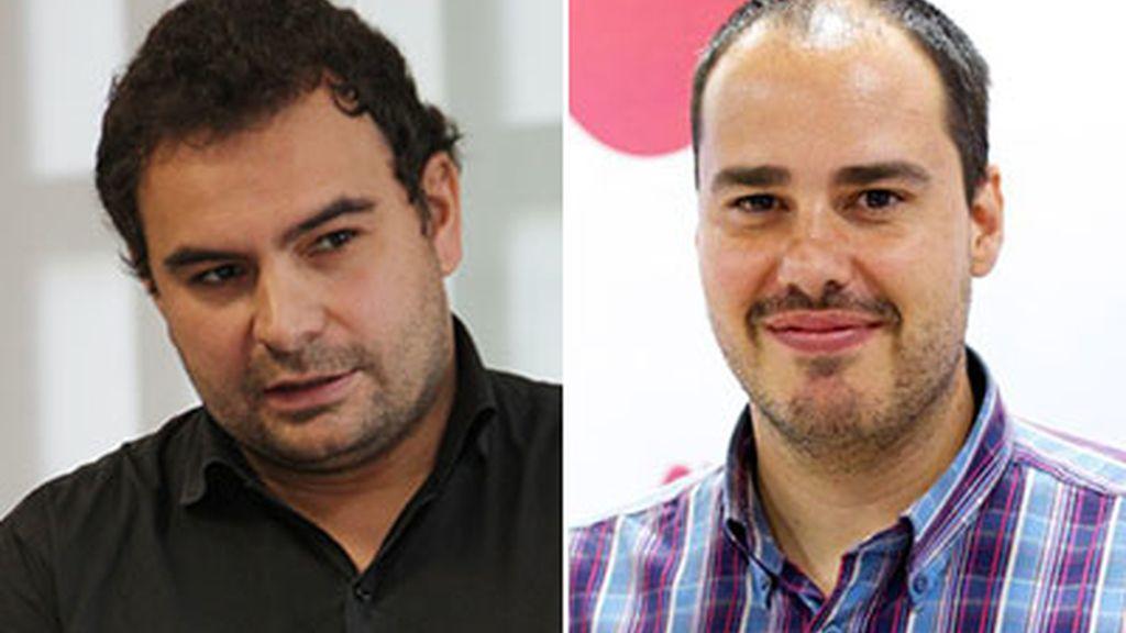 Los periodistas Sastre y Pampliega
