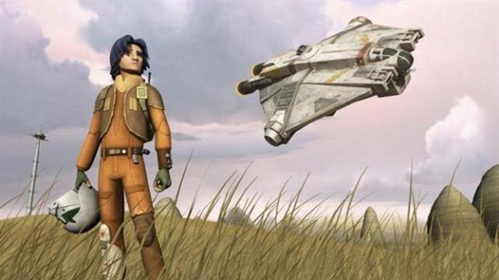Ezra lucha contra el Imperio para devolver a la galaxia su libertad