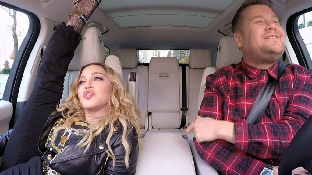 Madonna en el programa 'Carpool Karaoke'