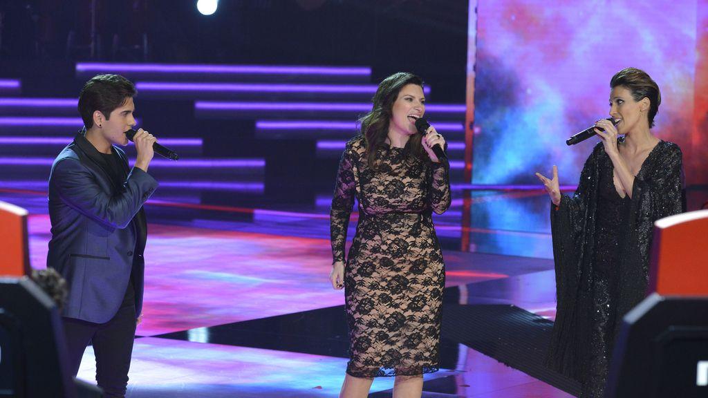 Finalista equipo Pausini La voz