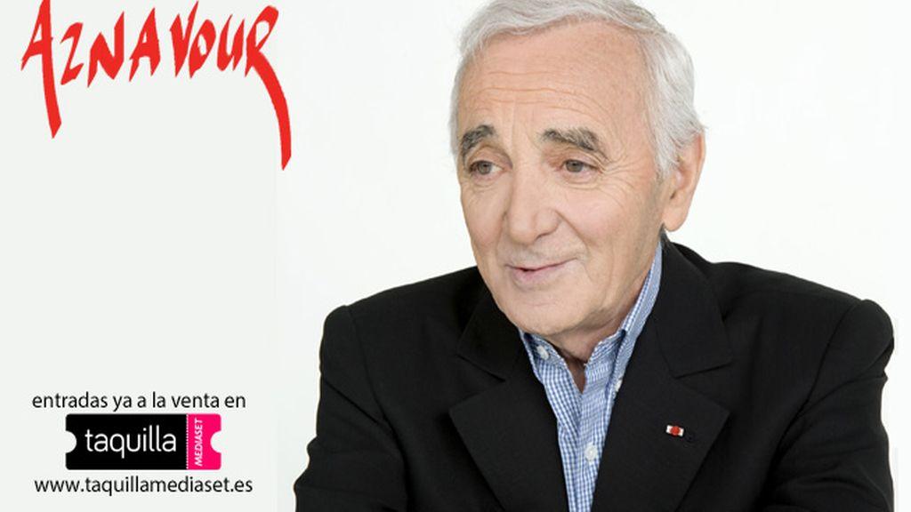 Compra tus entradas para Charles Aznavour en Taquilla Mediaset