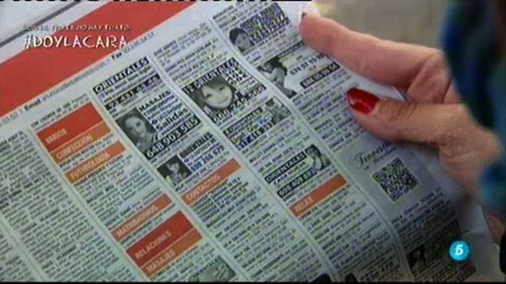 Los anuncios de prostitución en los medios de comunicación, a debate.